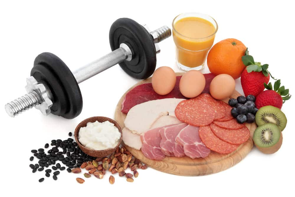 Vlees, ei en peulvruchten